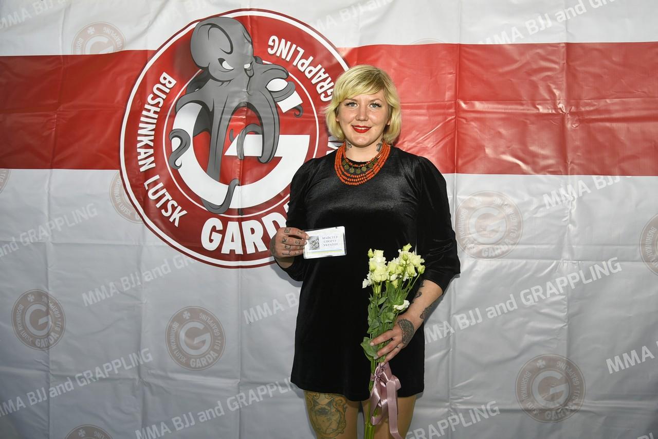 Волинська спортсменка – майстер спорту України з панкратіону