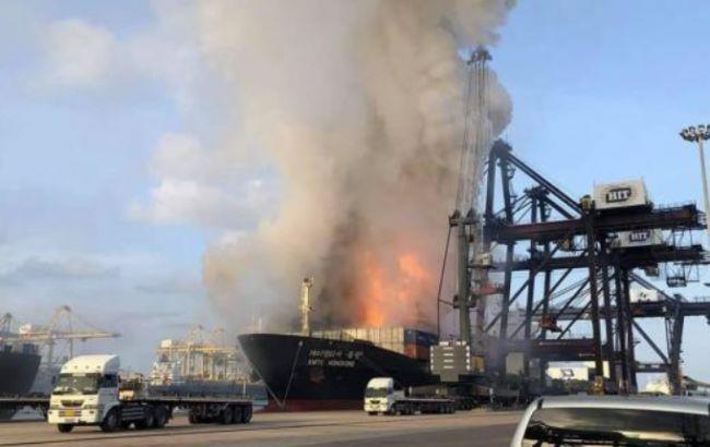 У Таїланді в порту стався вибух на вантажному судні: понад 130 постраждалих