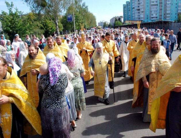У Луцьку прихильники Московського Патріархату організовують Хресний хід