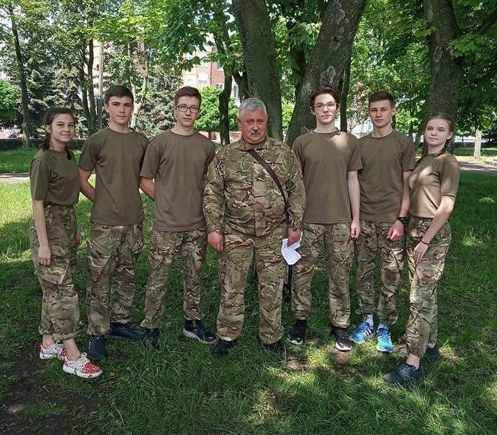 На Волині провели військово-патріотичну гру для молоді. ФОТО