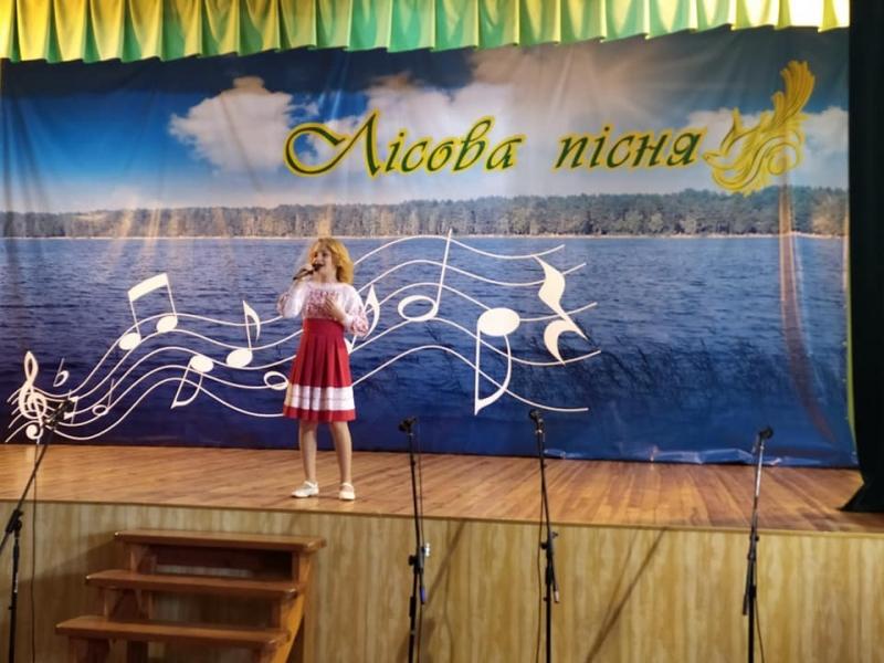 Юна волинянка перемогла в обласному фестивалі-конкурсі
