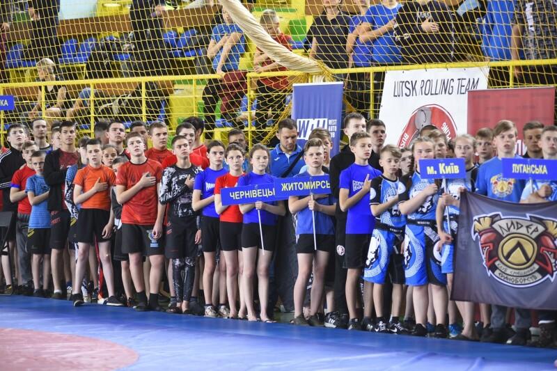 У Луцьку відбувся Чемпіонат України з панкратіону та грепплінгу. ФОТО