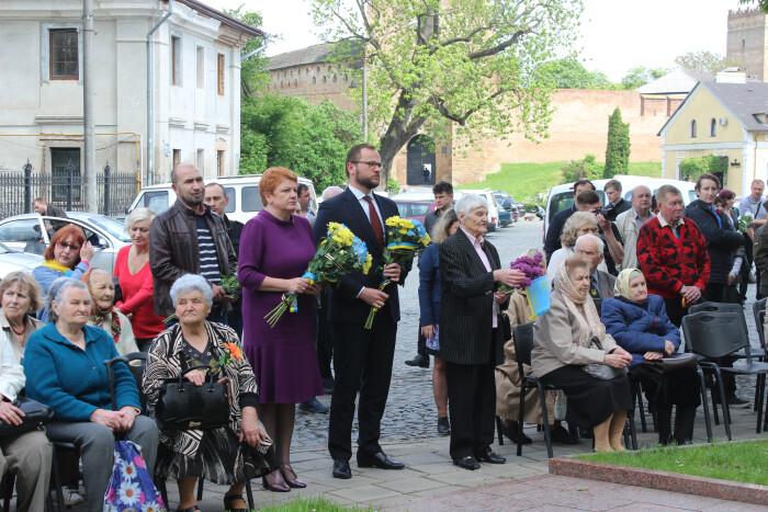 У Луцьку вшанували пам'ять жертв політичних репресій. ФОТО