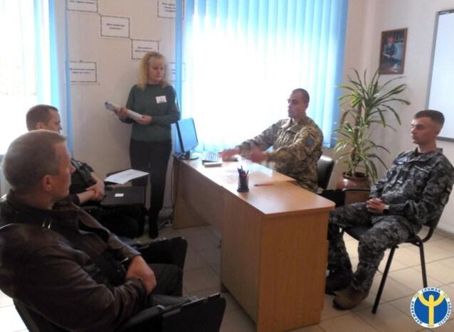 У Луцьку безробітних агітують до проходження військової служби за контрактом