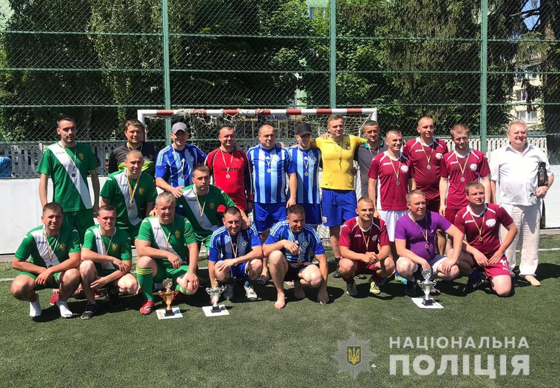 Командна ГУНП у Волинській області виборола перше місце у чемпіонаті з футзалу
