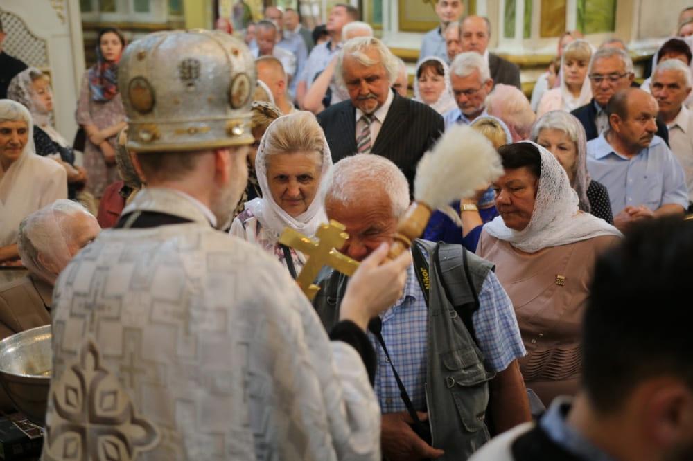 У Луцьку молились за невтомних трудівників пера