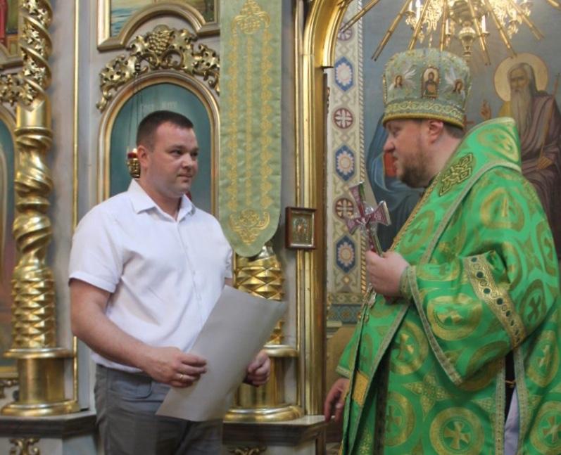 Митрополит Епіфаній відзначив нагородами двох волинян