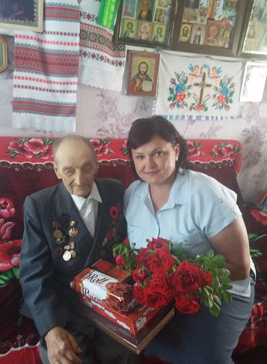 На Волині ветеран Другої світової війни відзначив свій 95-річний ювілей