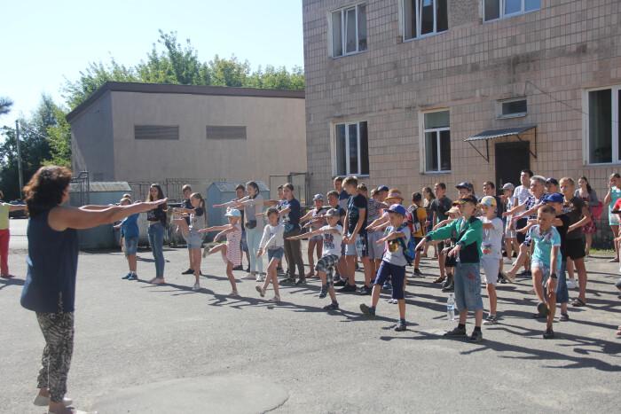 У Луцьку стартує літній оздоровчий табір. ФОТО
