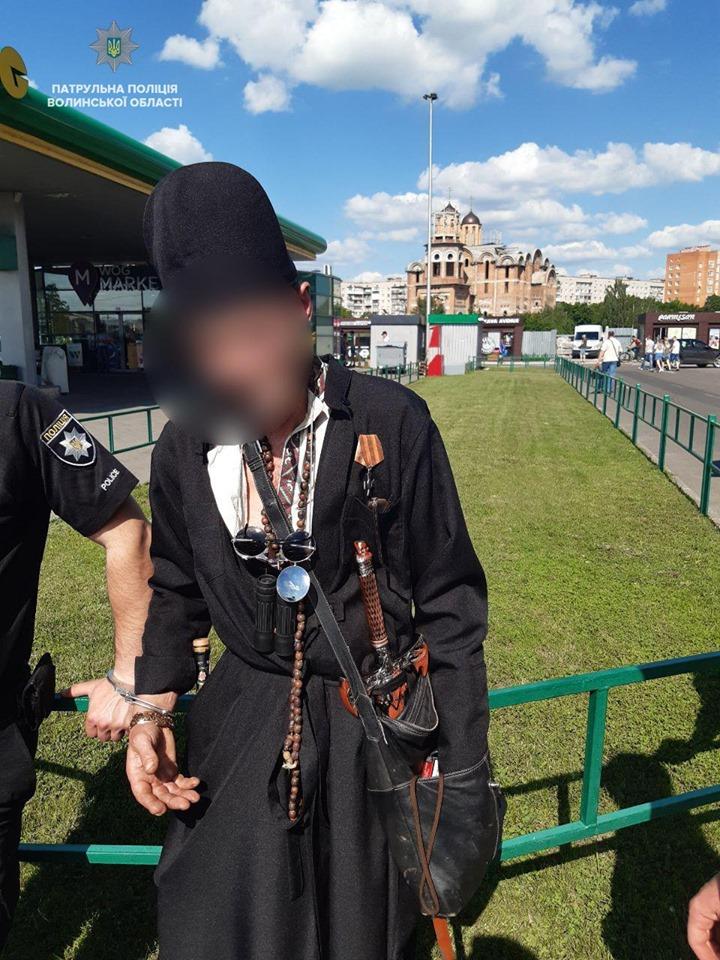 Хворий лучанин зі зброєю розгулював містом. ФОТО