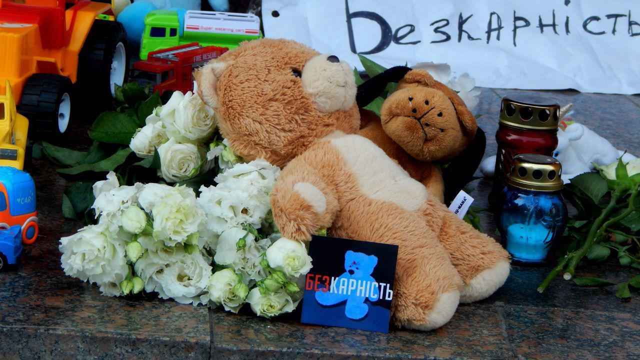 У Луцьку вшанували пам'ять хлопчика, котрий загинув від рук поліцейських. ФОТО