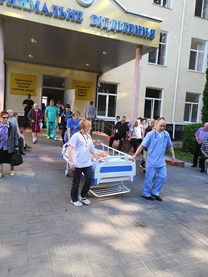 У Луцьку повідомили про замінування обласної лікарні