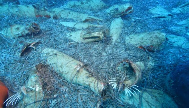 Біля узбережжя Кіпру знайшли затонуле давньоримське судно