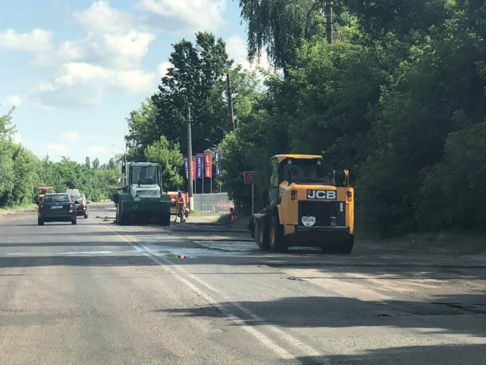 У Луцьку розпочався капітальний ремонт Ківерцівського перехрестя. ФОТО