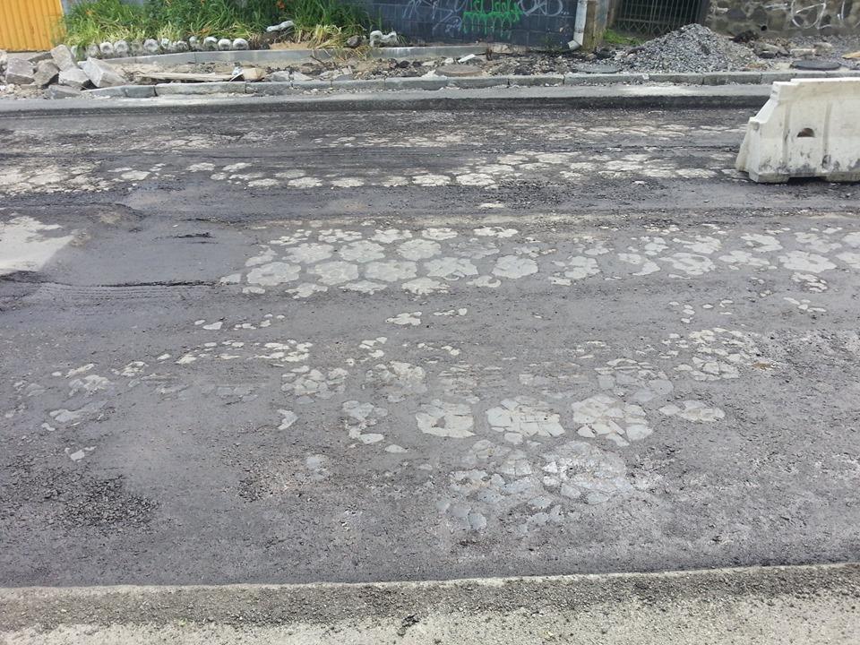 У Луцьку під час ремонту однієї з вулиць виявили трилінку
