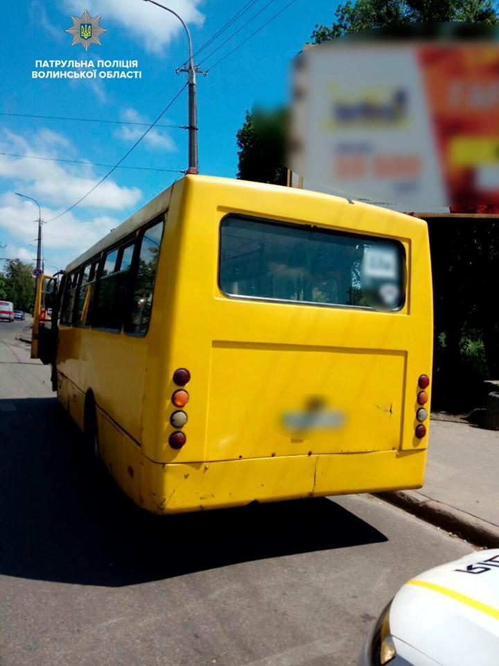 У Луцьку виявили автобус з підробленими документами