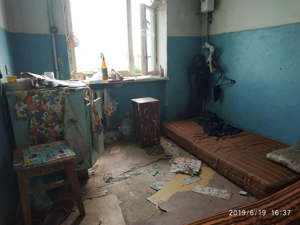У луцькій квартирі розвели антисанітарію