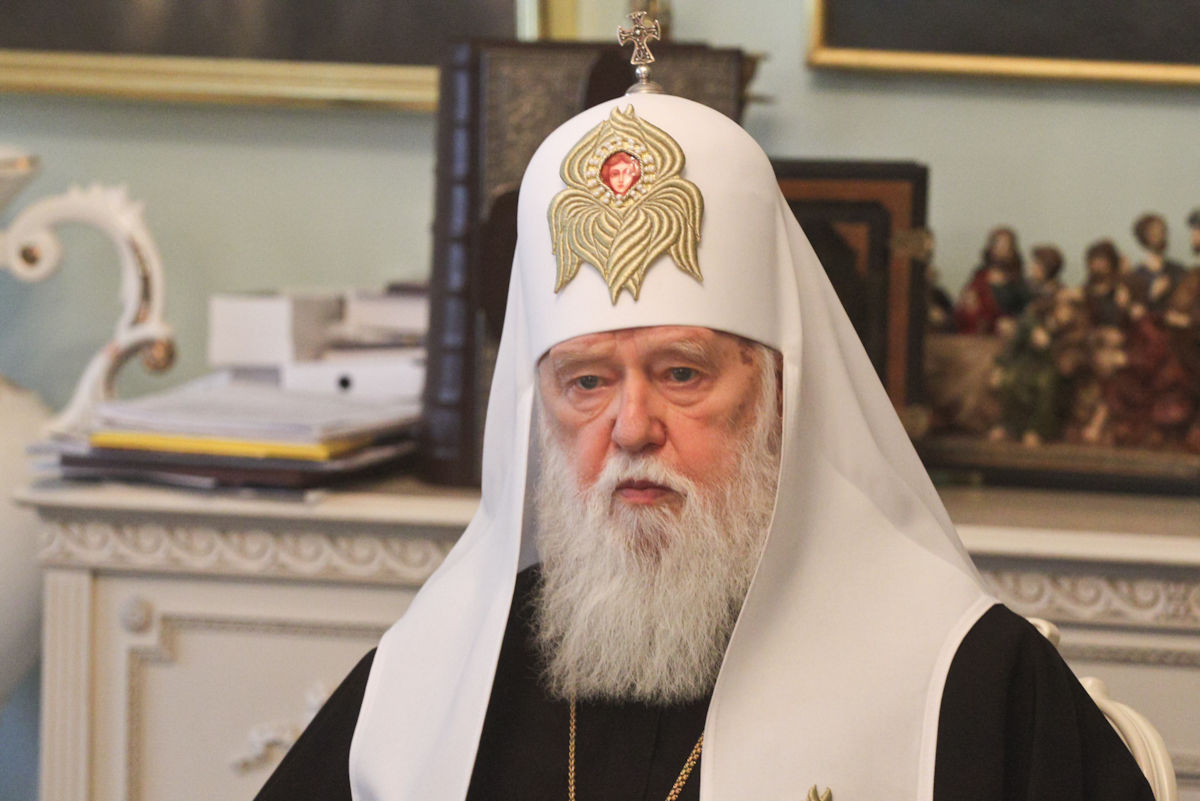 Філарет скликає собор для збереження Київського патріархату