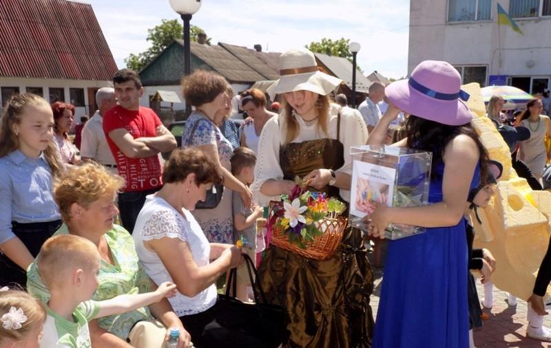 Громада Волині під час благодійної акції зібрала кошти на підтримку онкохворих дітей