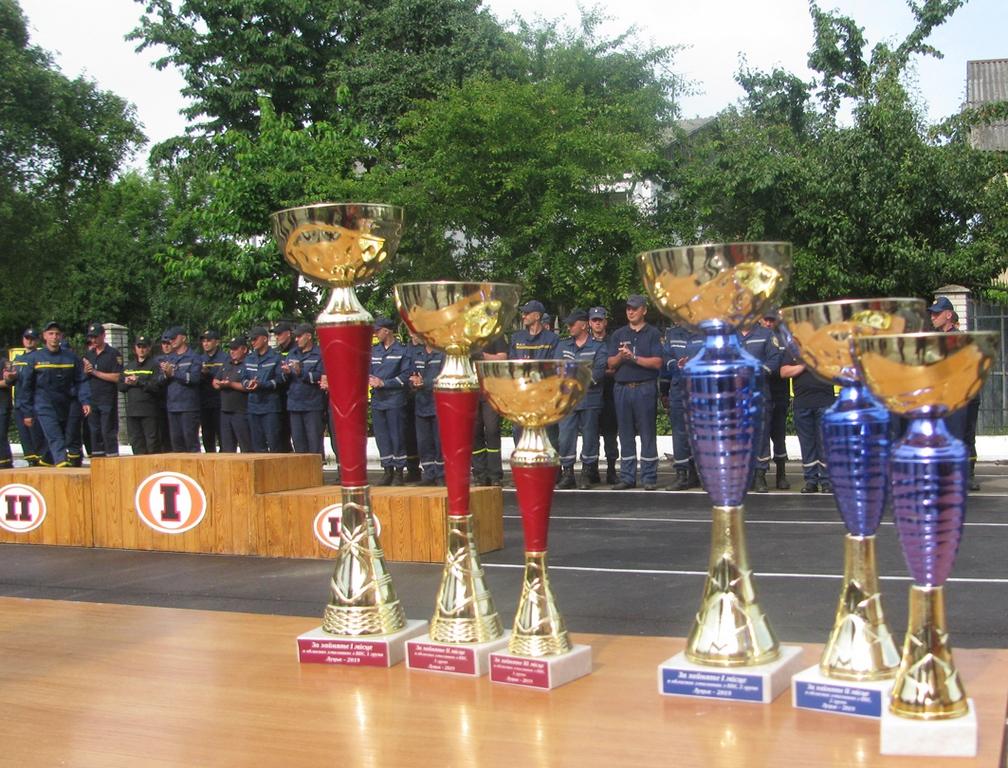 У Луцьку визначили переможців обласних змагань з пожежно-прикладного спорту. ВІДЕО