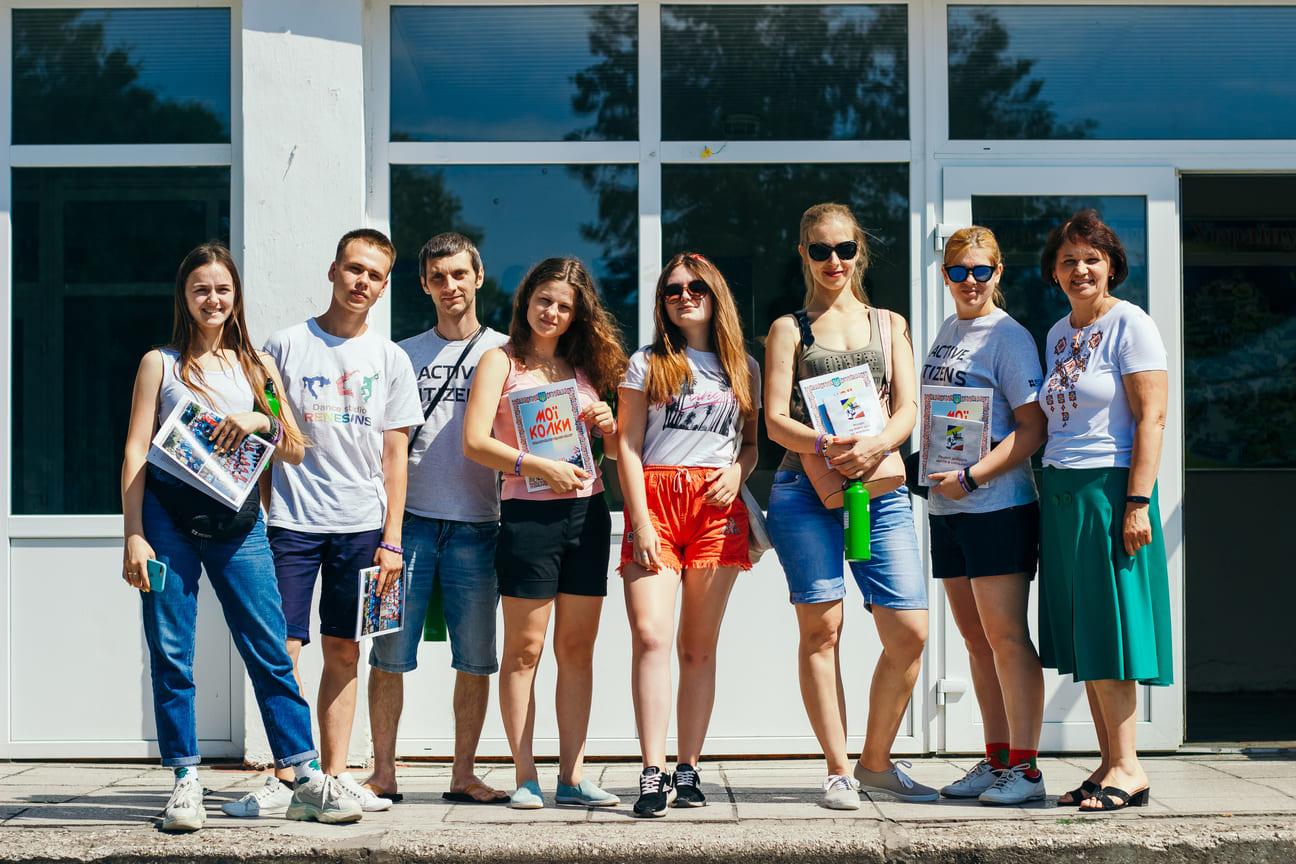 У громадах Волині волонтерили активні громадяни з усієї України. ФОТО