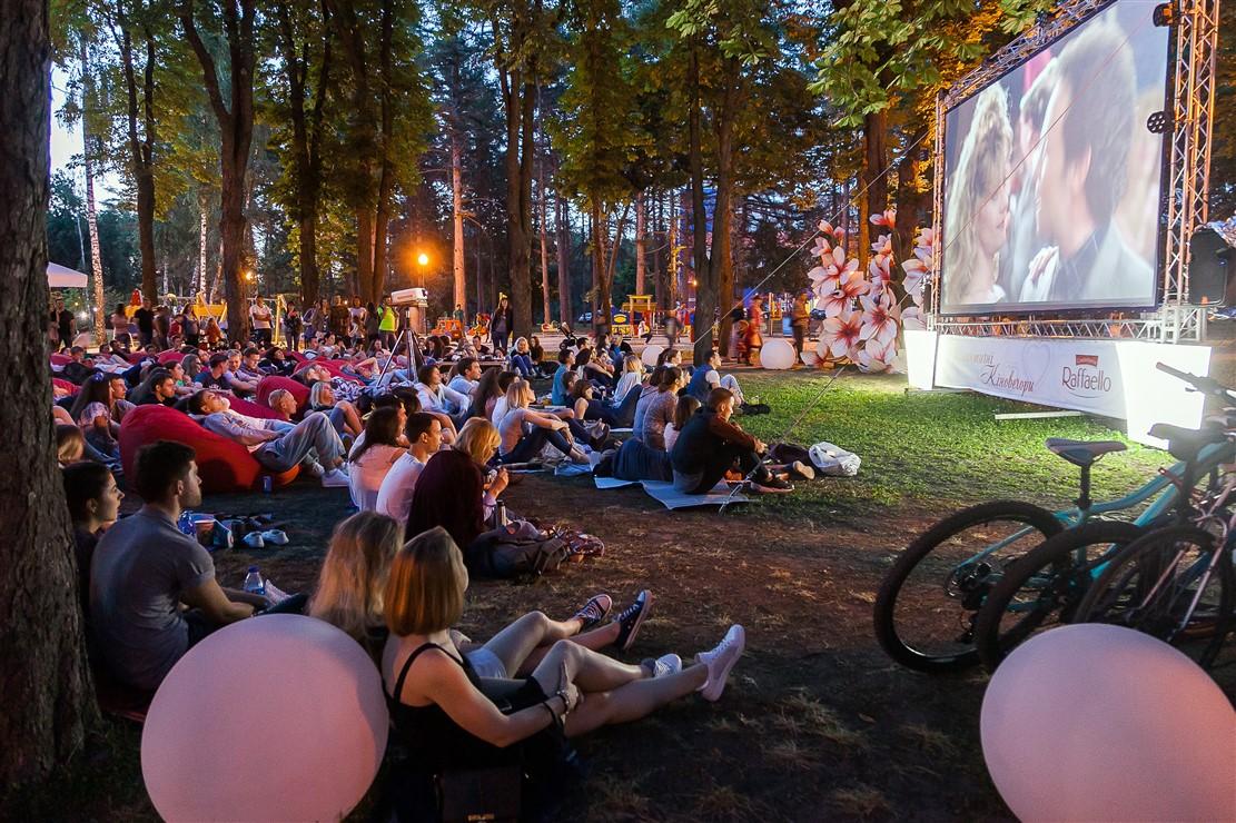 Вперше у місті на Волині запрацює кінотеатр під відкритим небом