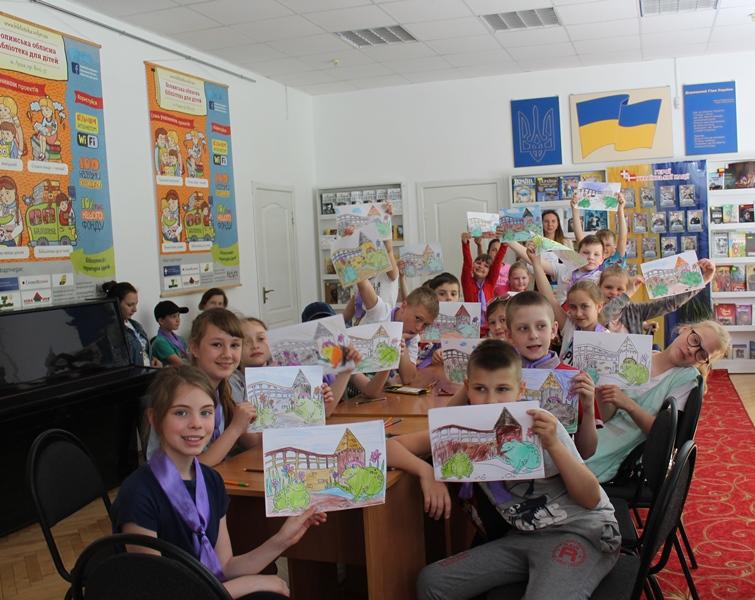 Квести, конкурси і вікторини: як маленькі лучани відсвяткувати День захисту дітей у бібліотеці. ФОТО