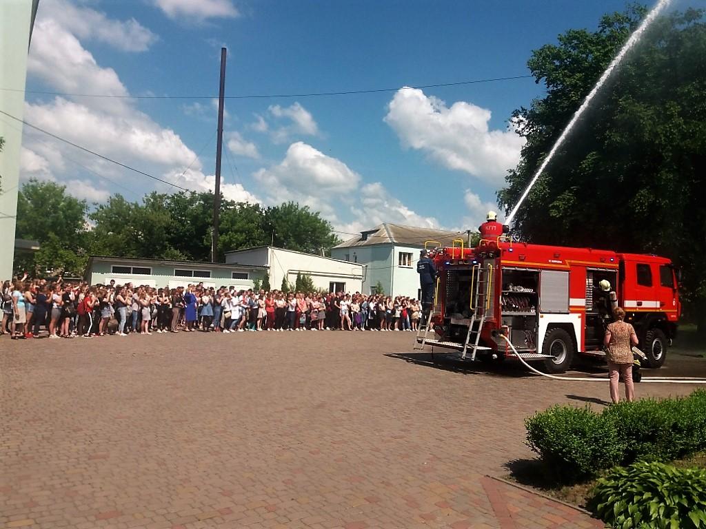 Рятувальники долучилися до проведення навчань з цивільного захисту