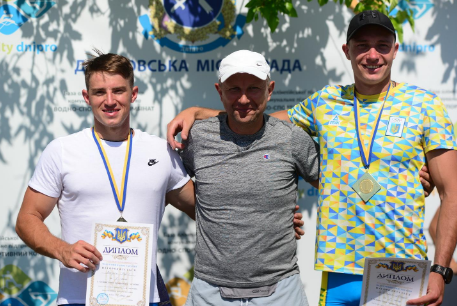 Волиняни здобули «золото» на чемпіонаті України з веслування