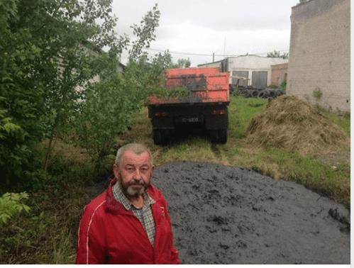 На території міста Луцька зливали нечистоти