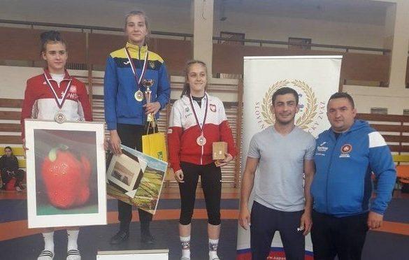 Волинянка стала однією з кращих борчинь у Словаччині