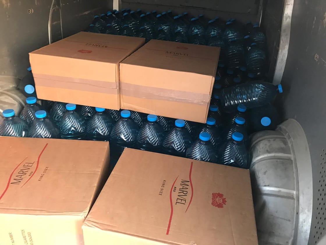 На Волині вилучили тонну спирту та чотири пакунки сигарет. ФОТО