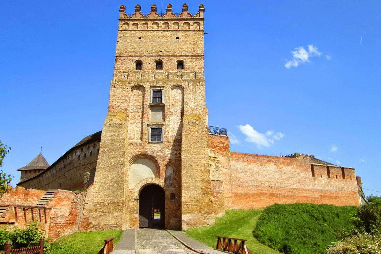 Показали, як виглядав Луцький замок на початку минулого століття