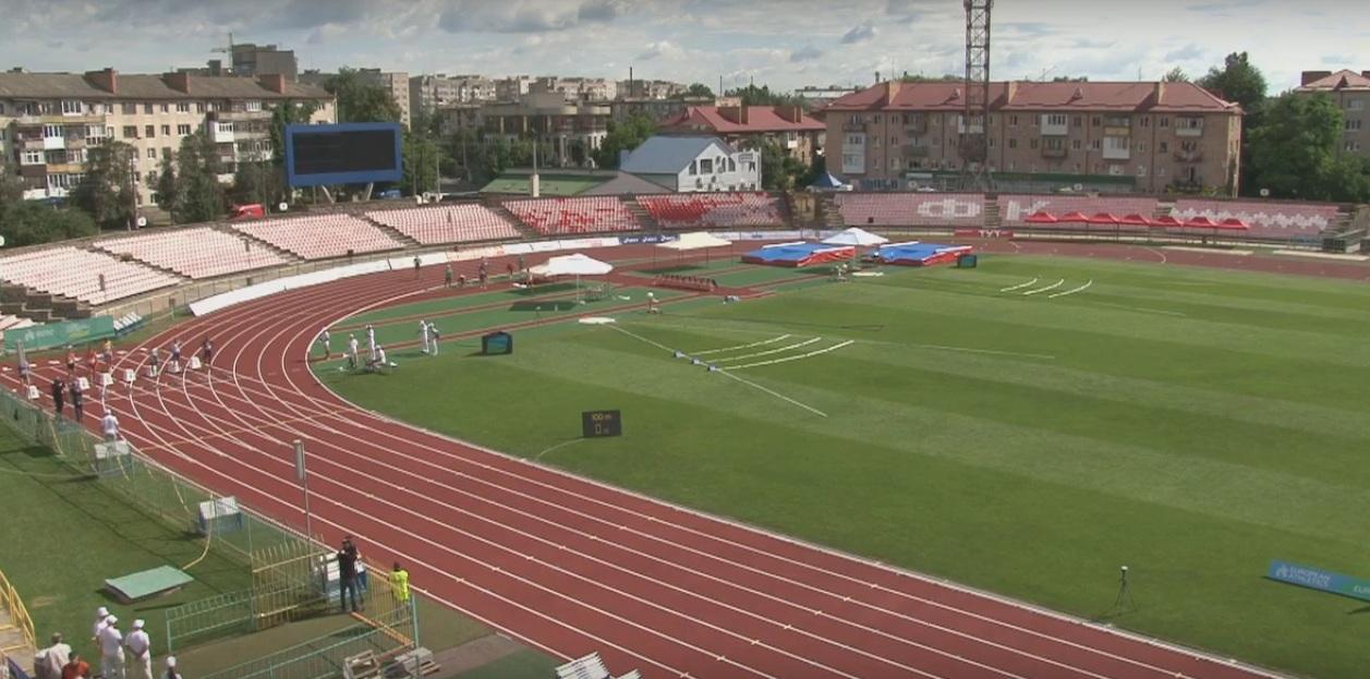 У Луцьку розпочалися змагання чемпіонату Європи з легкоатлетичних багатоборств. НАЖИВО