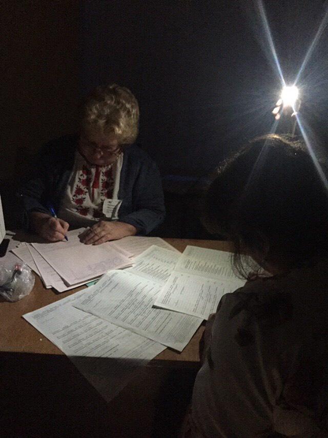 На Волині у лікарні голоси довелося рахувати «під ліхтарик»
