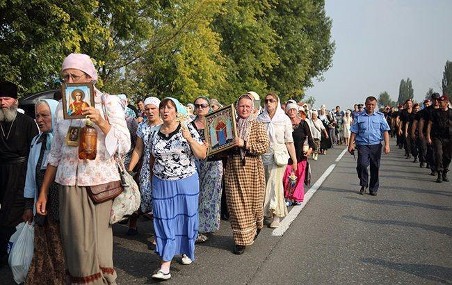 Волинська єпархія УПЦМП влаштовує пішу ходу до Свято-Успенської Почаївської лаври