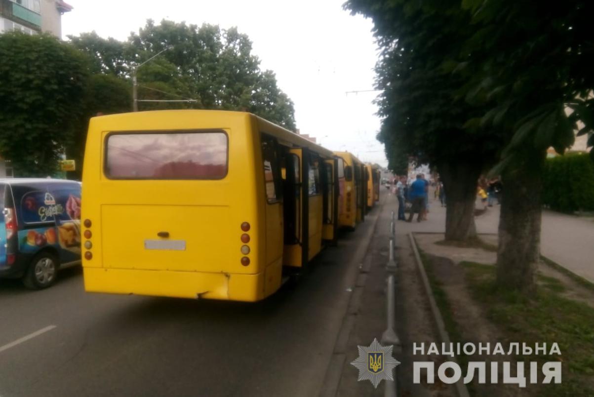 У Луцьку сталася ДТП з участю трьох маршруток