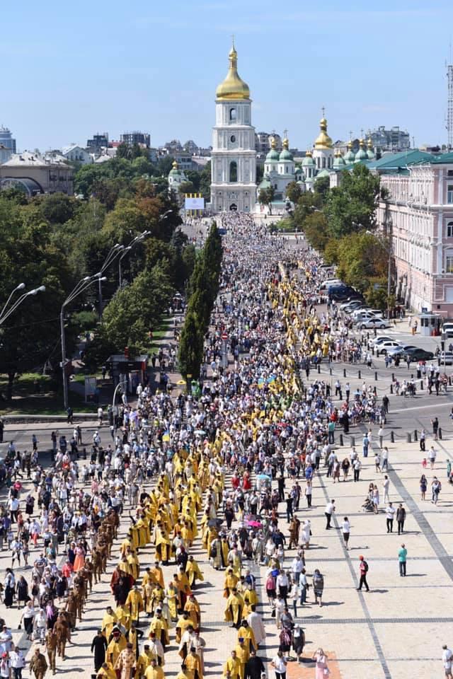 Волинське духовенство взяло участь у святкуваннях у Києві з нагоди чергової річниці хрещення Руси-України