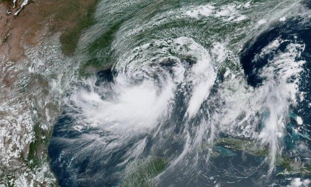 Шторм «Баррі» в штаті Луїзіана: 50 тисяч людей залишилися без світла