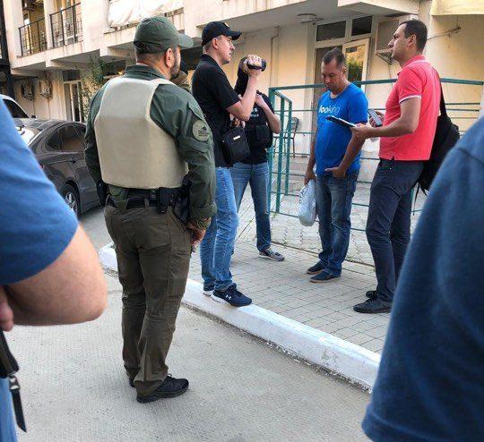 В Одесі затримали екс-начальника поліції Головіна