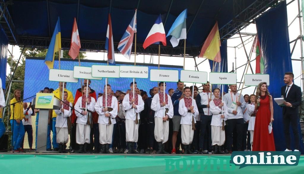 У Луцьку офіційно відкрили Чемпіонат Європи з легкоатлетичних багатоборств. ФОТО