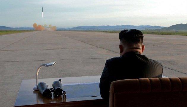КНДР запустила дві балістичні ракети