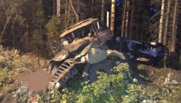 На Уралі в РФ через п'яного водія вибухнув бензовоз