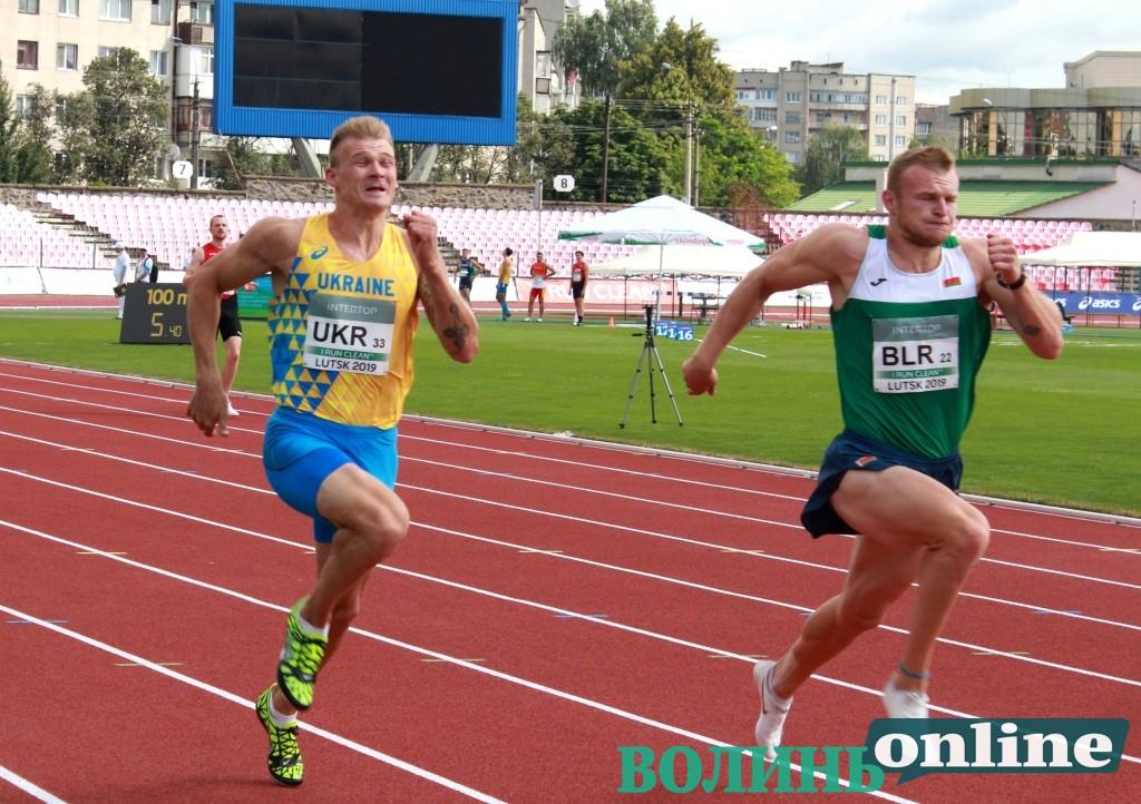 Суперліга-2019: У Луцьку закінчилися забіги на дистанції 100 метрів серед чоловіків