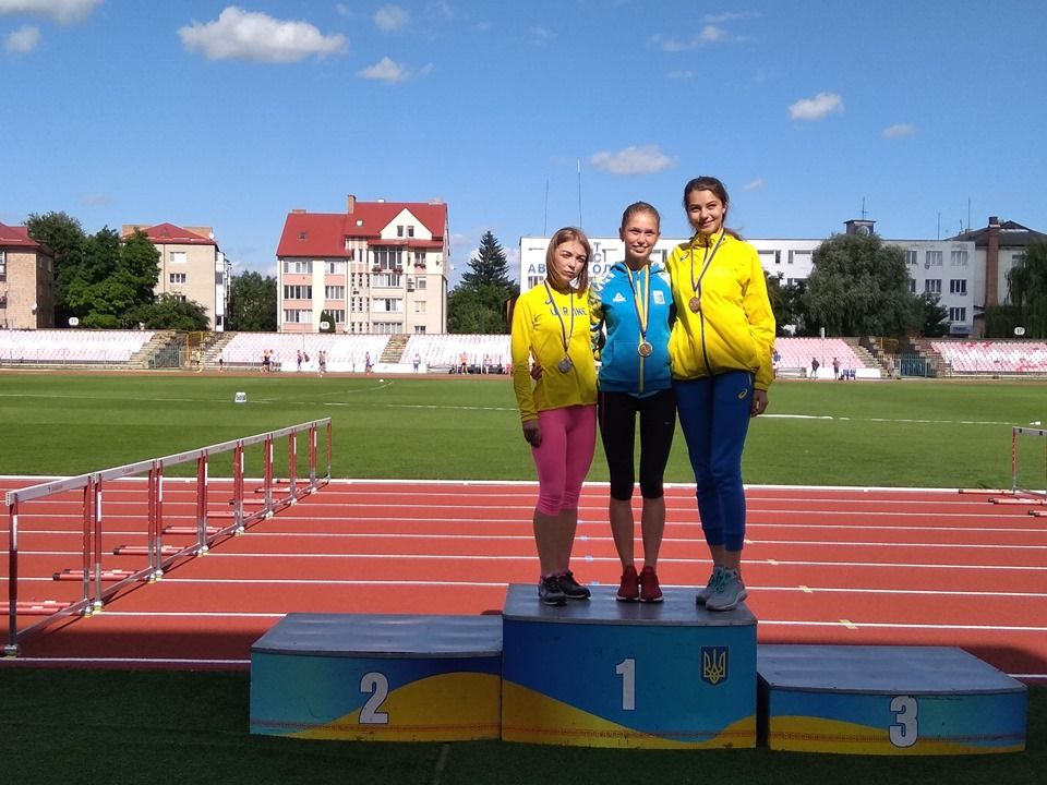 У Луцьку відбувся чемпіонат з легкої атлетики
