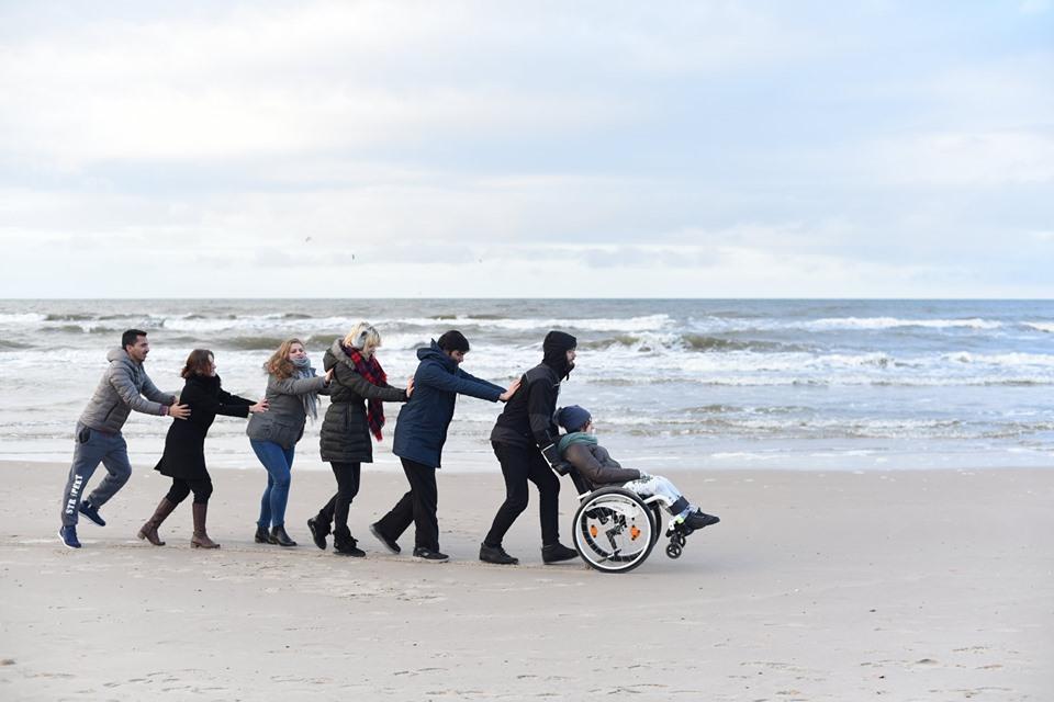 Історія створення переможної світлини на конкурсі від Ради Європи: лучанка показує у своїх фотороботах, що люди з інвалідністю можуть бути щасливими