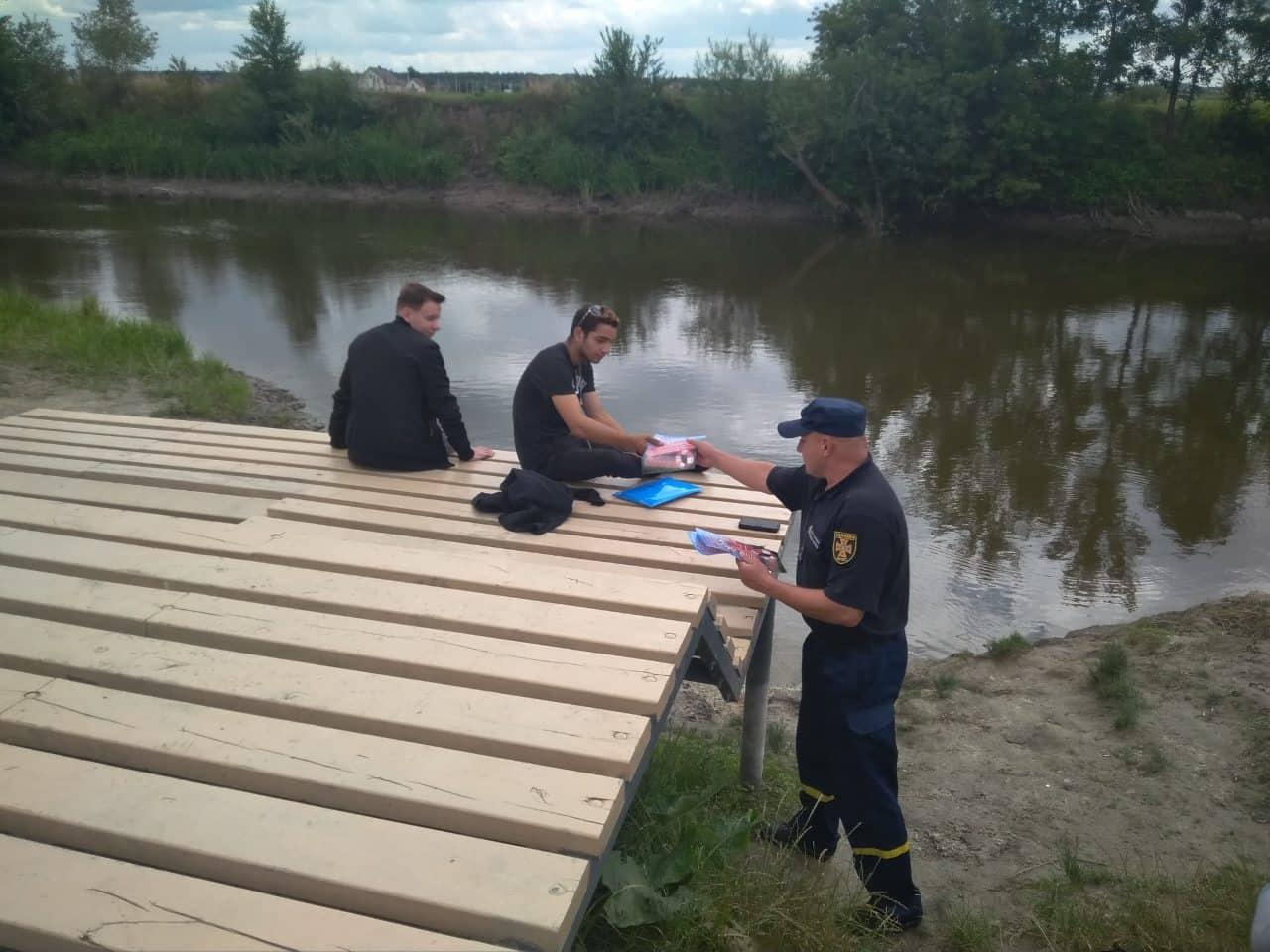 У Луцьку рятувальники провели інструктажі з безпеки на воді
