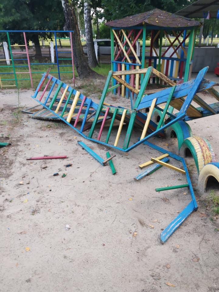 У Луцьку вандали орудували на території дитсадка
