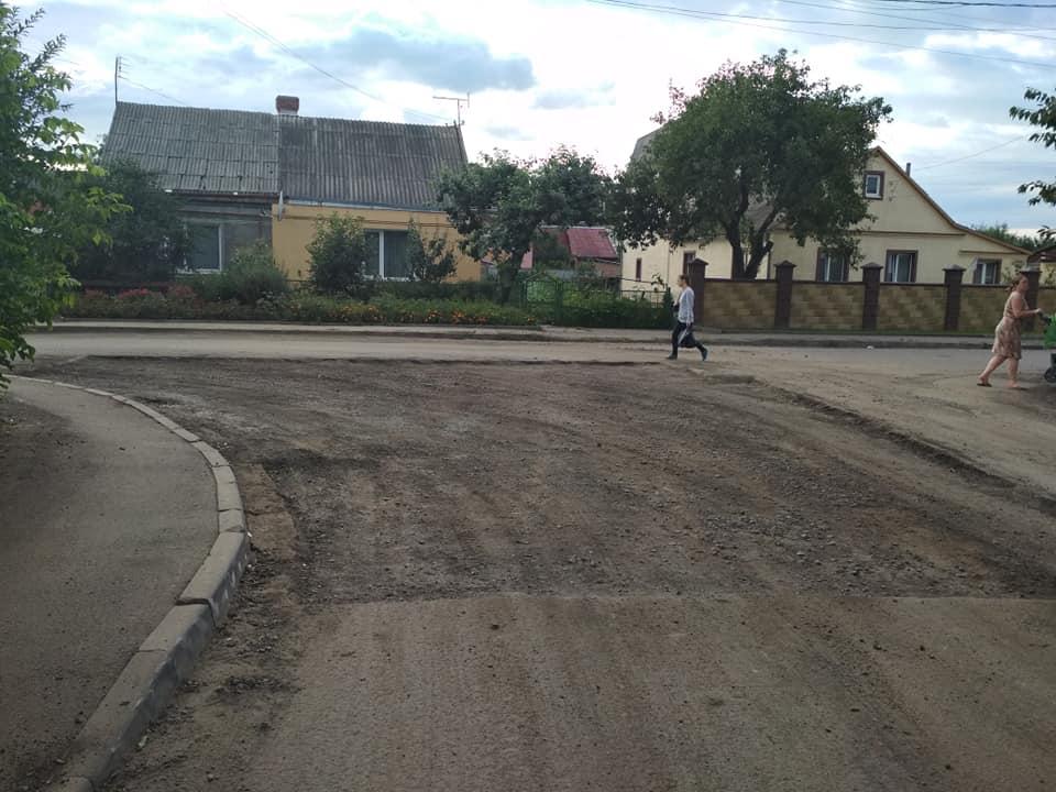 У Луцьку розпочали ремонт однієї з вулиць. ФОТО