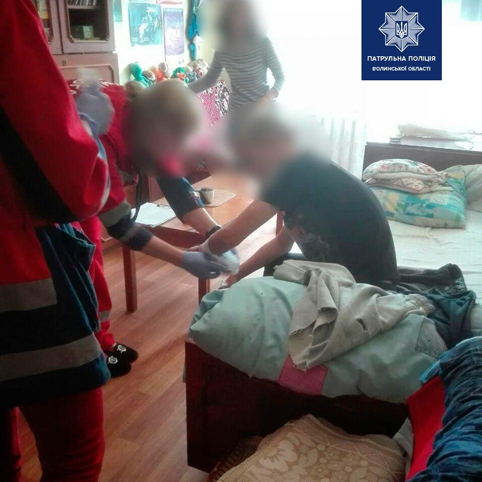 У Луцьку підліток вчинив спробу суїциду через сварку з дівчиною